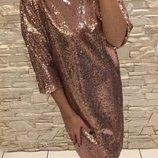 Платье женское нарядное для мамы и дочки Фемели лук