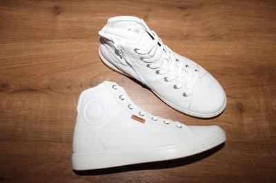 cdbcbb525c562e Кожаные высокие ботинки кеды Ecco Soft 7: 1880 грн - женские ботинки ...