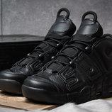 Кроссовки Nike , черные р. 41 - 45, кожа , новинка