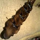 Вешалка прихожую деревянная классическая