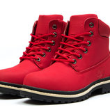 Зимние ботинки на меху Timberland Premium Boot, код kv-30735