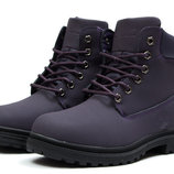 Зимние ботинки на меху Timberland Premium Boot, код kv-30736