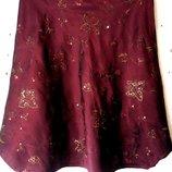 Юбка трансформер Юбка трапеция юбка новогодняя праздничная