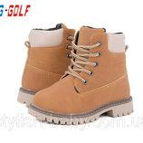 Детская зимняя обувь бренда Jong Golf для мальчиков рр. с 26 по 31
