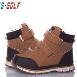 Детская зимняя обувь бренда jong golf для мальчиков рр. с 32 по 37