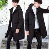 Мужская удлиненная зимняя куртка AL-8458-10
