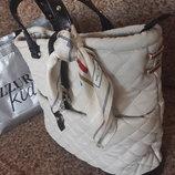 Бежевая сумка от ZARA
