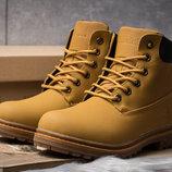 Зимние ботинки на меху Timberland Premium Boot, рыжий 30731