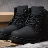 Зимние ботинки на меху Timberland Premium Boot, черные 30734