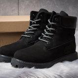 Зимние ботинки на меху Timberland 6 Premium Boot, черные 30666