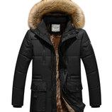 Очень теплая, удлиненная зимняя куртка Tim AL-7864-10