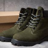 Зимние ботинки на меху Timberland 6 Premium Boot, хаки 30662