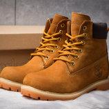 Зимние ботинки на меху Timberland 6 Premium Boot, рыжий 30661