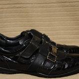 Эффектные комбинированные черные кожаные кроссовки Cipo&Baxx Турция 40