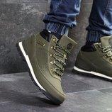 Timberland ботинки мужские зимние темно зеленые 6832