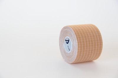 Профессиональный Кинезио тейп DL Kintape3 специальные волокна с индикатором натяжения 5 см х 5 м