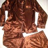 Домашний костюм пижама, молочный шоколад