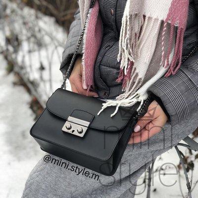 Кожа кожаная сумка на длинной ручке цепочке cross-body сумочка трендовая и стильная кроссбоди
