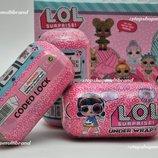 Кукла LOL Surprise Under Wraps. CODED LOCK. 2 вида.