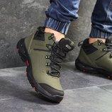 Зимние ботинки Ecco Biom dark green