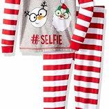Пижамка Komar Kids из серии Santa Stripe