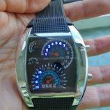 Часы мужские спидомерт LED
