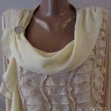 Шикарная блуза Топленое молоко Для пышной красы