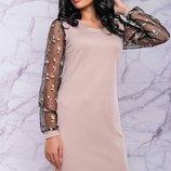 Платье праздничное,размеры M,L.XL,XX.3 цвета