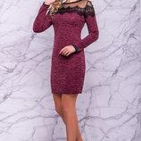 Платье корпаротивное,размеры S, M, L, XL, XXL,3 цвета