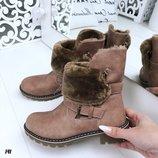 Ботинки женские зимние.Хит сезона