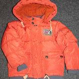 Тёплая зимняя куртка Wewins на флисе на 2-3 года