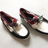 Фирменные мужские кожаные туфли мокасины kurt geiger