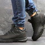 Ecco Biom ботинки мужские зимние черные 6836
