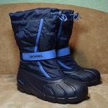 Термоботинки Sorel Flurry ботинки сапоги зимние. Оригинал. 38 р./24 см.