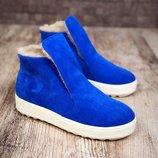 Зимние ботиночки - хайтопы