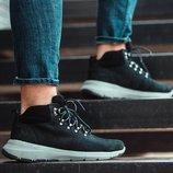 Черные зимние мужские ботинки-кроссовки south tactic black 41 42 43 44 45 размер
