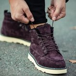 Мужские зимние ботинки south indigo coffee 41 42 43 44 45 размер