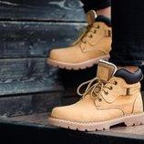 Желтые мужские зимние ботинки south walker yellow 41 42 43 44 45 размер