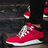 Красные мужские кроссовки south fenix red 41 42 43 44 45 размер