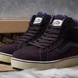 Зимние ботинки на меху Vans, 35,36 размер унисекс скидка распродажа