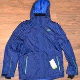 Зимняя лыжная термо куртка C&A цвет синий