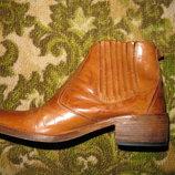 Ботинки сапоги челси кожаные итальянские челси брэнд Murri