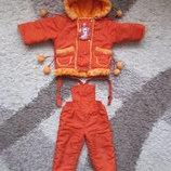 Детский полукомбинезон куртка и штаны