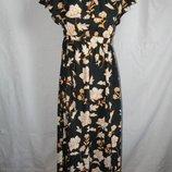 Красивое платье с открытыми плечами river island
