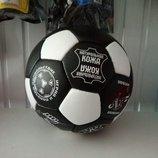 Мяч футбольный кожаный