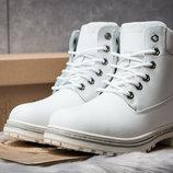 Зимние ботинки на меху Timberland Premium Boot, белые