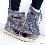 Луноходы женские California moon boot
