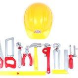 Набор инструментов Tools Set 11 инструментов и каска 5873 Технок