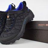 Ботинки мужские Merrell Iceberg Moc black/blue