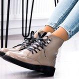 Ботинки Лак, натур. кожа/лак, зима